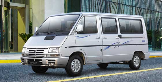 Tata Winger Traveller Staff van