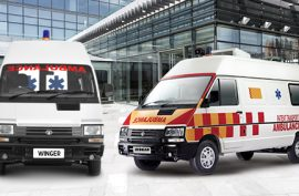 How Many Different Models of Tata Winger Ambulance Vehicles are Available