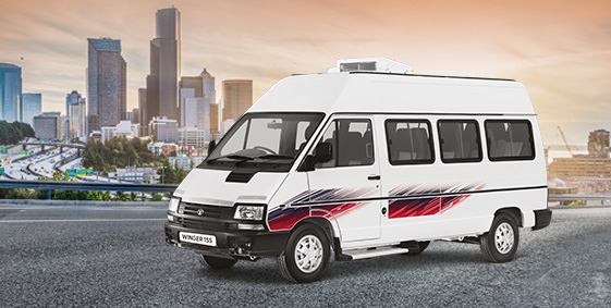 Why is the Tata Winger great as a tourist vehicle?