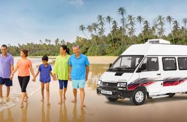 Why is the Tata Winger van preferred for Holiday vacations?