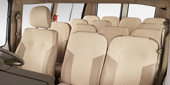 How many seats does the Tata Winger have