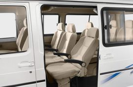 What is the seating capacity of the Tata Winger