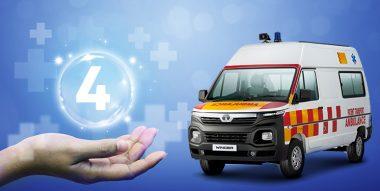4 Benefits of Tata Winger Ambulance