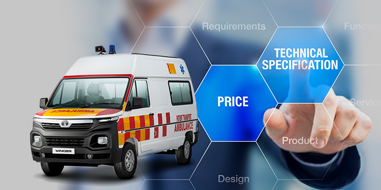 The Technical Specifications and Price Range of Tata Winger Ambulance