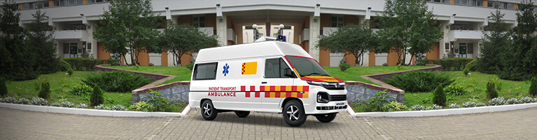 Tata Winger Ambulance Applications