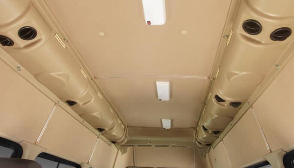 Tata Winger 12S seater Van Interior Roof