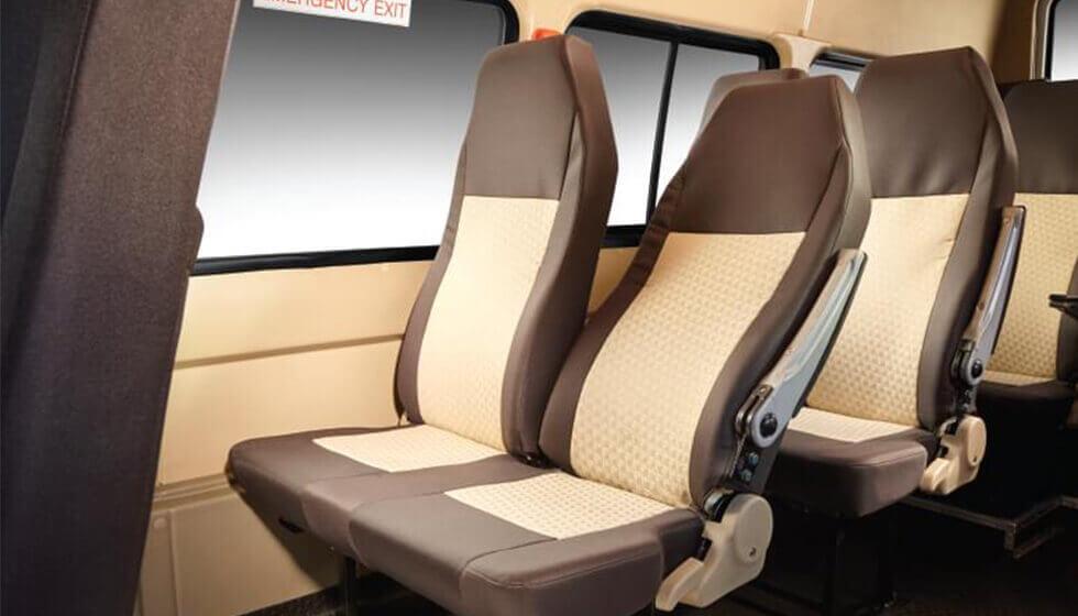 Tata Winger 12S Seater Van Features