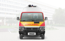 Tata Winger Ambulance Small