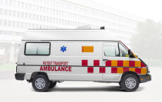 Tata winger Ambulance Flat