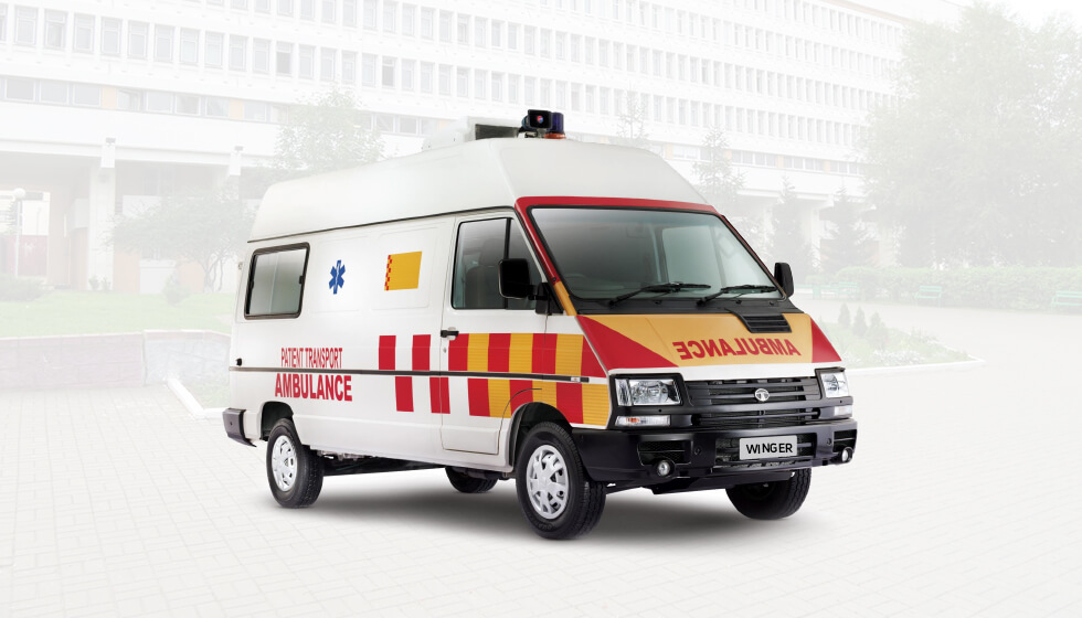 Tata Winger Ambulance Cylinders