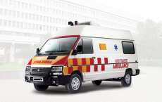 Tata Winger Ambulance Stretcher small