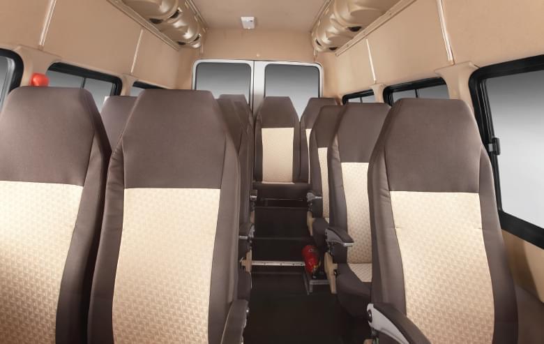 Tata winger Staff 15d interiors