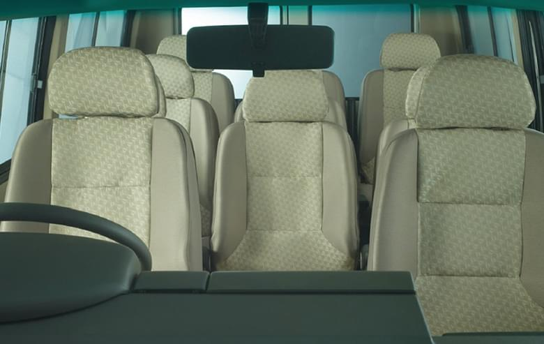 Tata Winger Staff 9d Interiors