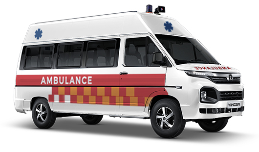 About TATA Winger Ambulance