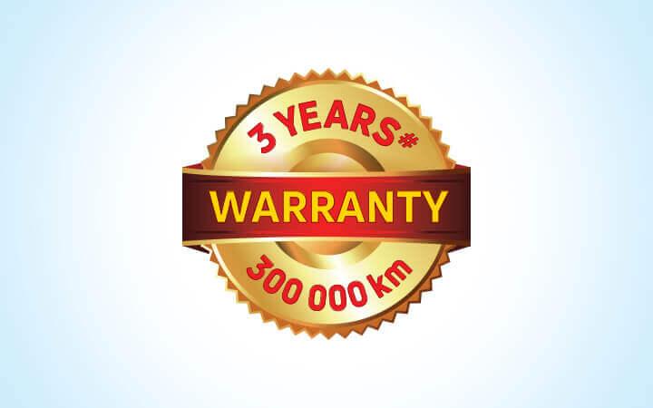 Tata Winger Warranty Feature