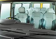 Tata Winger School Van Interior Seats