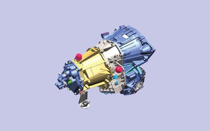 Tata Winger Skool 3488 WB 20+A+D Transaxle