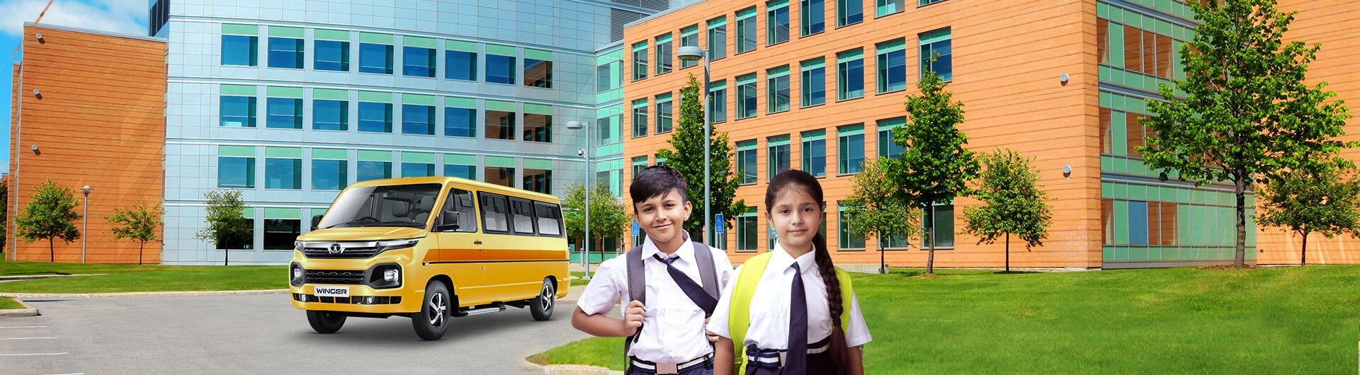 Tata Winger Skool 2800 13d