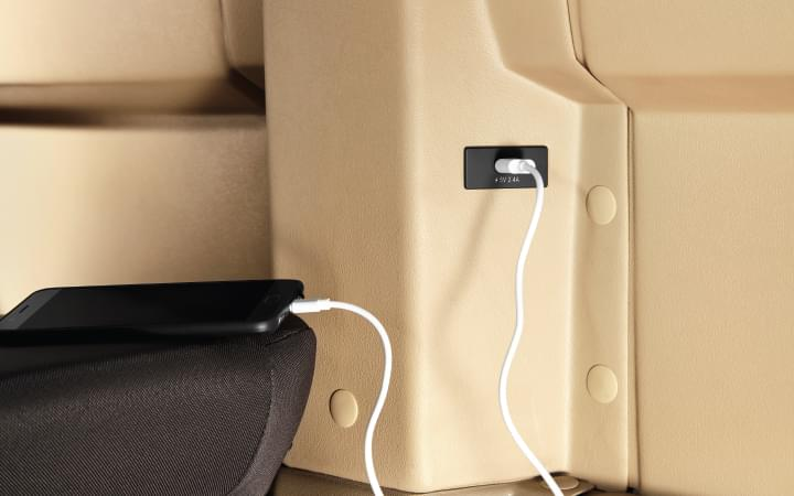Tata Winger Tourist/Staff 12 S Multiple USB charging points Features