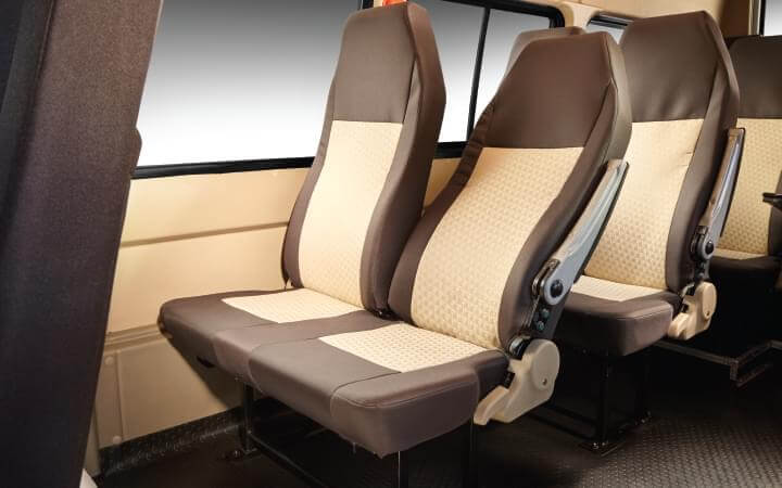 Tata Winger Tourist/Staff 12 S 12 Push back seats Features
