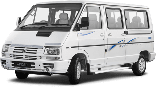 Tata Winger Dicor staff Flat side view