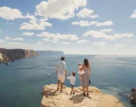 Tata Winger Tourist Family