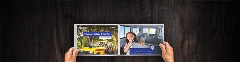 Tata Winger School Brochures