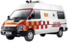 Tata Winger Ambulance LH view small