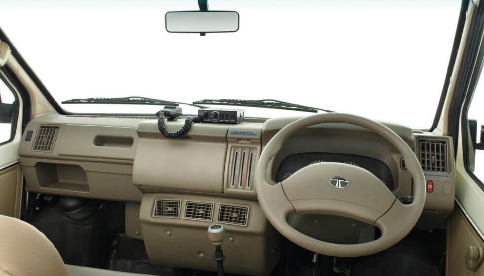 Tata Winger Ambulance Dashboard