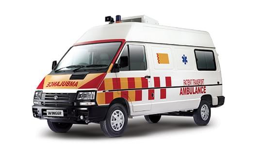 About TATA Winger Ambulance