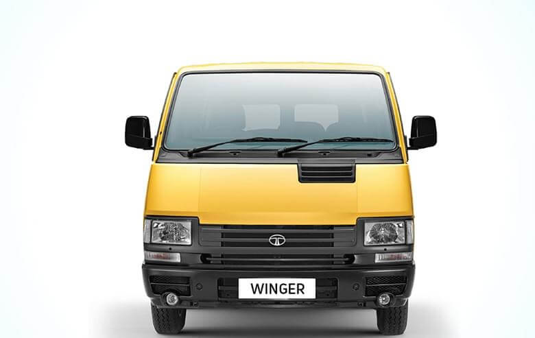 Tata Winger School Front View