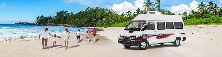 TATA Winger Tourist/Staff 15 + D mobile