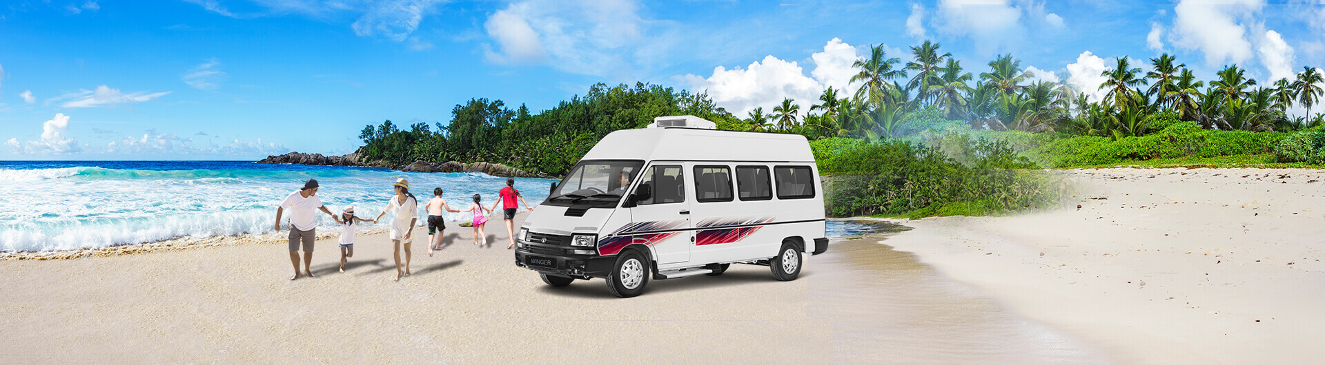 TATA Winger Tourist/Staff 15 + D